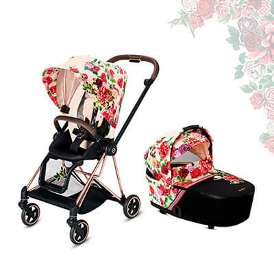 Cybex Mios, Spring Blossom (2-в-1) - Spring Blossom Light