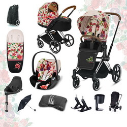 Cybex Priam III Spring Blossom (FULL SET)