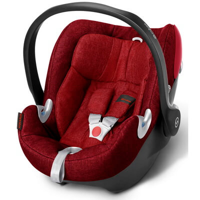 Cybex Aton Q - PLUS Hot & Spicy