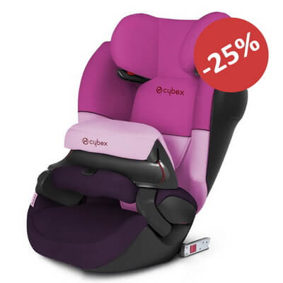 Cybex Pallas M-Fix SL - Purple Rain