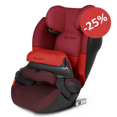 Cybex Pallas M-Fix SL - Rumba Red