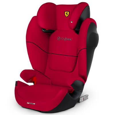 Cybex Solution M-Fix SL - Ferrari - Racing Red