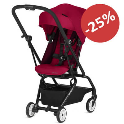 Cybex Eezy S Twist - Ferrari - Racing Red
