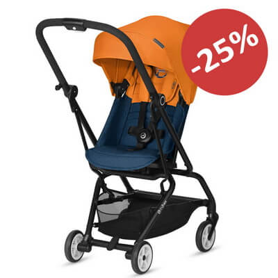 Cybex Eezy S Twist - Tropical Blue