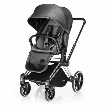 Cybex Priam Lux (прогулочная) - Manhattan Grey / All Terrain