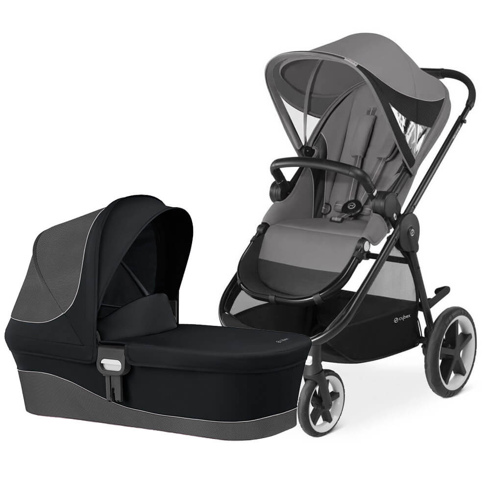 Cybex Balios M 2-в-1 - Manhattan Grey / Stardus Black