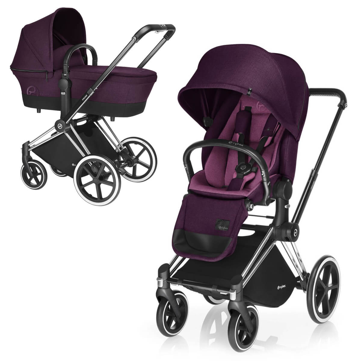 Cybex Priam Lux 2-в-1 - Mystic Pink / All Terrain