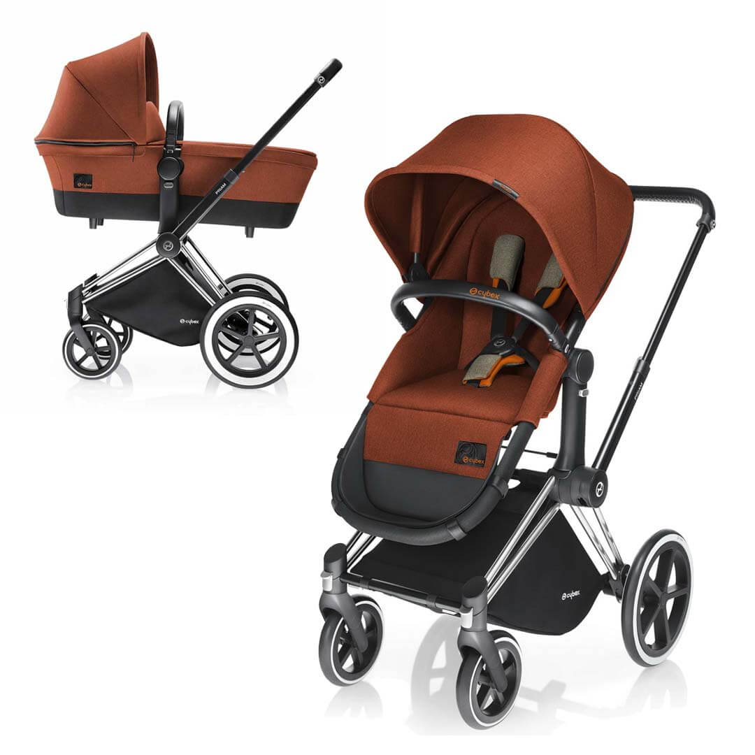 Cybex Priam Light 2-в-1 - Autumn Gold / Trecking