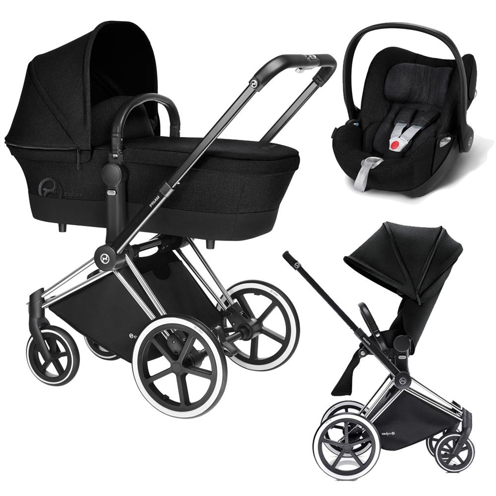 Cybex Priam Lux 3-в-1 - Stardust Black / Trecking
