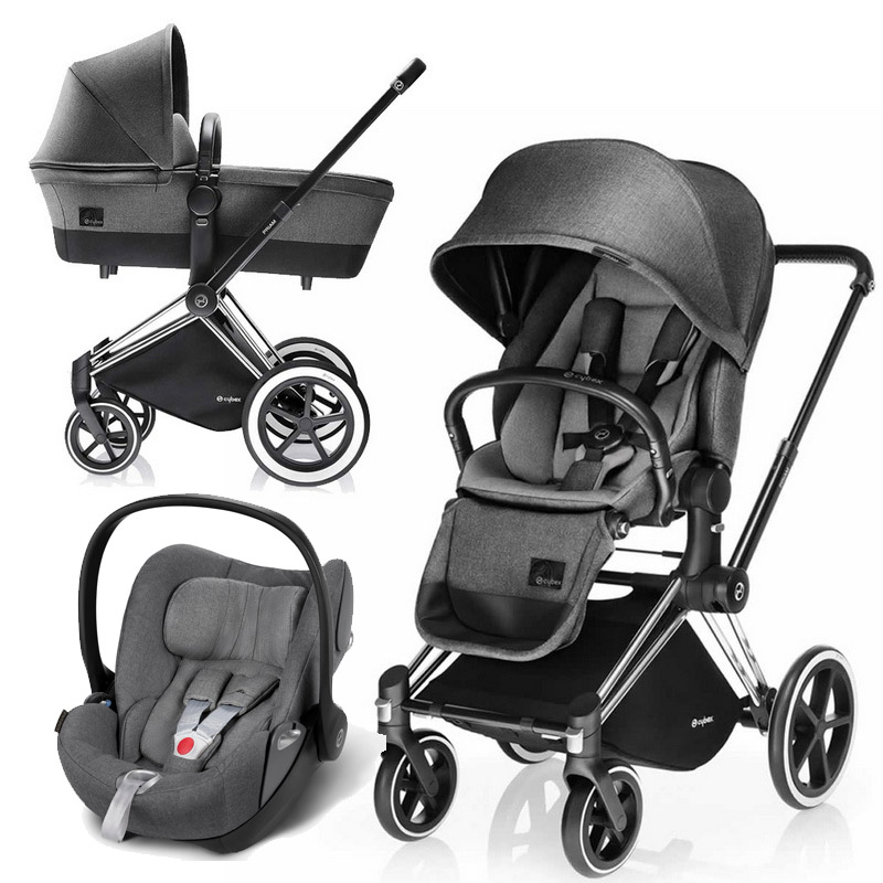 Cybex Priam Lux 3-в-1 - Manhattan Grey / Trecking