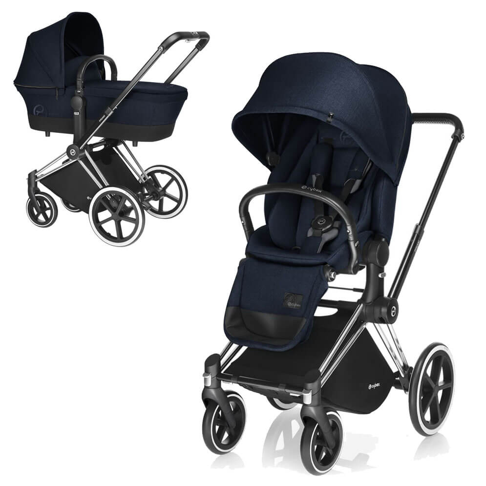 Cybex Priam Lux 2-в-1 - Midnight Blue / All Terrain