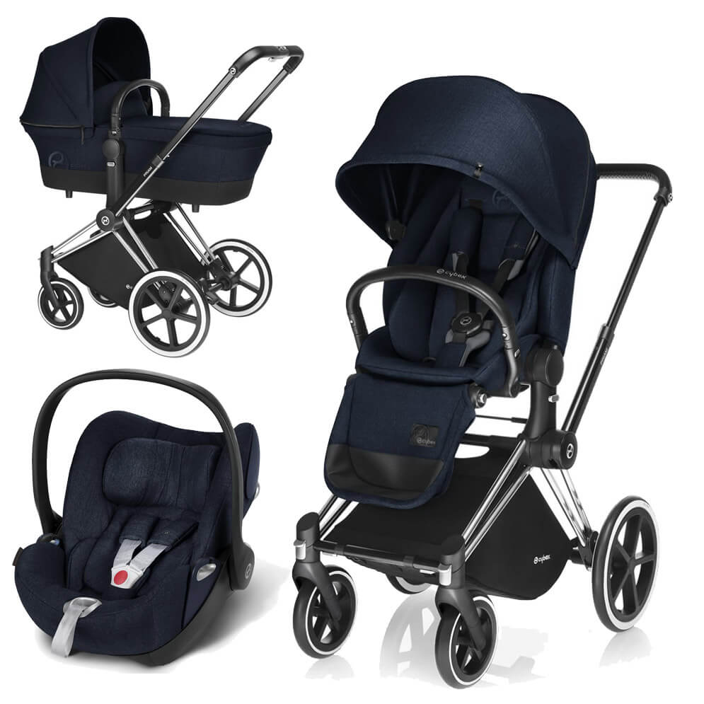 Cybex Priam Lux 3-в-1 - Midnight Blue / Trecking