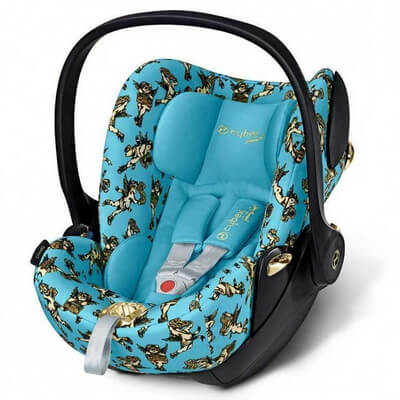 Cybex Cloud Q, Cherubs by Jeremy Scott - Blue