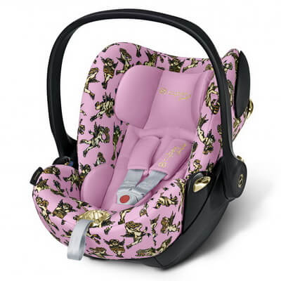 Cybex Cloud Q, Cherubs by Jeremy Scott - Pink