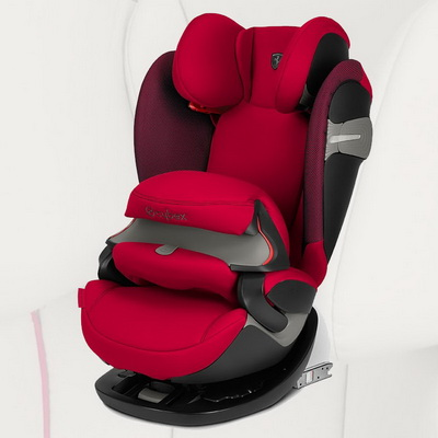 Cybex Pallas S-Fix - Scuderia Ferrari - Racing Red