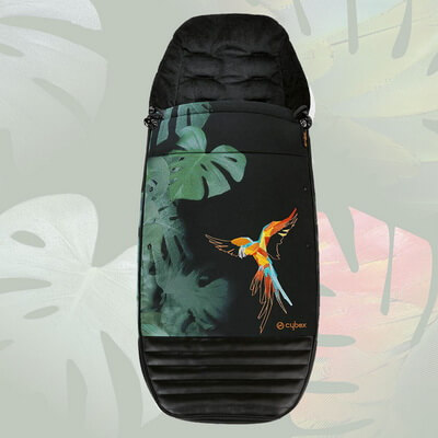 Утепленный конверт Cybex Priam Footmuff, Birds of Paradise
