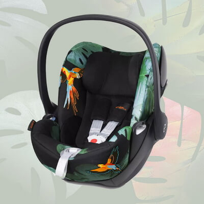 Cybex Cloud Q Birds of Paradise - Birds of Paradise