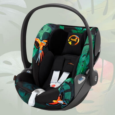 Cybex Cloud Z i-Size, Birds of Paradise