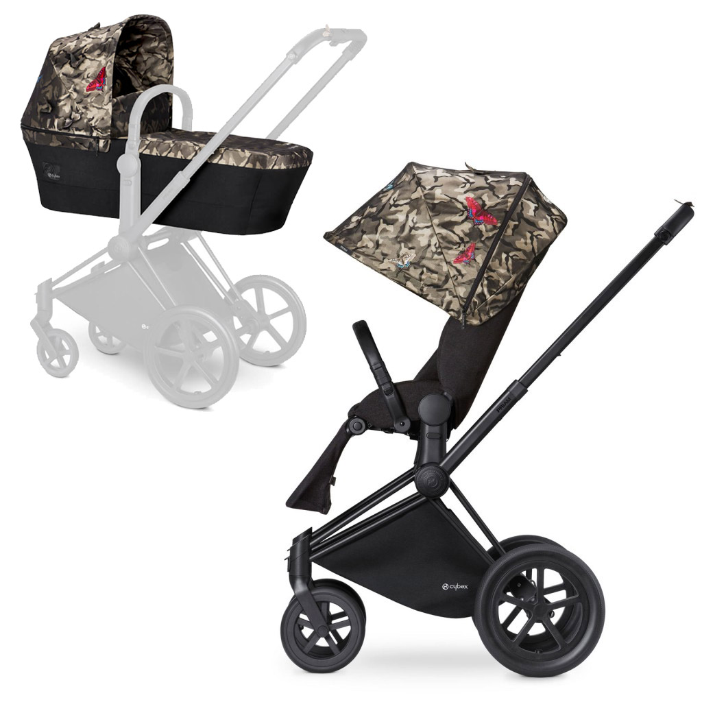Cybex Priam Lux, Butterfly (2-в-1) - Butterfly / All Terrain