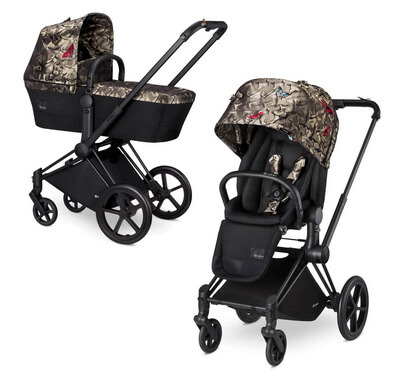 Cybex Priam Lux, Butterfly (2-в-1) - Butterfly / Trecking