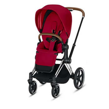 Cybex Priam III (прогулочная) - True Red - Chrome Brown