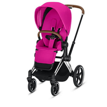 Cybex Priam III (прогулочная) - Fancy Pink - Chrome Brown
