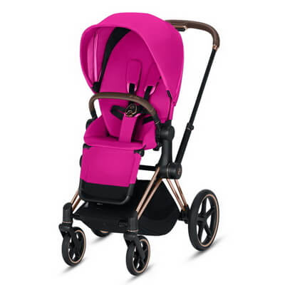 Cybex Priam III (прогулочная) - Fancy Pink - Rose Gold