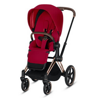 Cybex Priam III (прогулочная) - True Red - Rose Gold