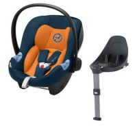 Cybex Aton M i-Size + Isofix Base M - Tropical Blue