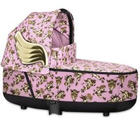 Cybex Priam Carrycot - Cherubs by Jeremy Scott - Pink
