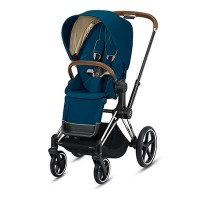 Cybex Priam III (прогулочная) - Mountain Blue / Chrome Brown
