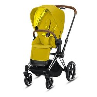 Cybex Priam III (прогулочная) - Mustard Yellow / Chrome Brown