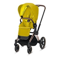 Cybex Priam III (прогулочная) - Mustard Yellow / Rose Gold