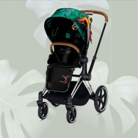 Cybex Priam III, Birds of Paradise (прогулочная) - Birds of Paradise / Chrome Brown