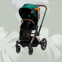 Cybex Priam III, Birds of Paradise (прогулочная) - Birds of Paradise / Rose Gold