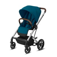 Cybex Balios S Lux - River Blue - Silver Frame