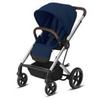 Cybex Balios S Lux - Navy Blue - Silver Frame