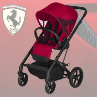 Cybex Balios S Lux - Ferrari - Racing Red