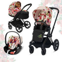 Cybex Priam III Spring Blossom (3-в-1) - Spring Blossom Light
